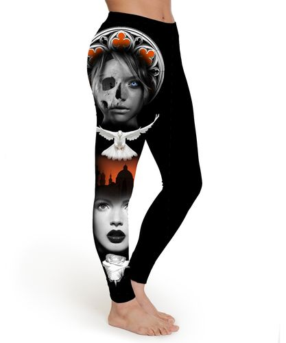 Holy Dove Leggings